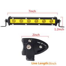 """7"""" 18W 6 LED Arbeitsscheinwerfer Zusatzscheinwerfer Flutlicht 4WD Offroad 12V"""