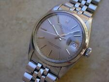 Rolex  Date 1500 w/ Rare Silver Gray Color Sigma Dial!!