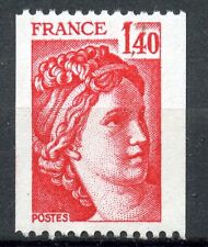 TIMBRE FRANCE NEUF N° 2104 ** TYPE SABINE ROULETTE