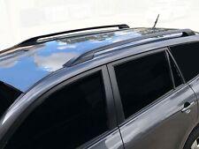 Black OEM style Roof Rails for Toyota RAV4 06-12 Alloy