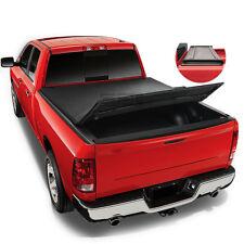 Fit 04-14 F150 5.5' Bed Fleetside Tri-Fold Adjustable Soft Trunk TONNEAU COVER