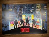 """Teenage Mutant Ninja Turtles"" By Raid71 Art Print Poster XX/165 Mondo BNG"