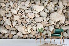 New Listing3D Pebbles Pattern Wallpaper Wall Murals Removable Wallpaper