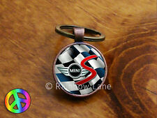 Handmade Mini Cooper S (3) Keychain Key Chain Case Key Ring Accessories Gift