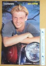 NICK CARTER Original Vintage TV Hits Posters! Magazine Poster (SP)