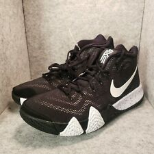 """*New* Nike Kyrie 4 TB Basketball """"Oreo"""" Black White AV2296-001 Men's Size 11.5"""