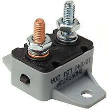 40 Amp Manual Reset Circuit Breaker 12v/24v Boat Accessory Trolling Motor