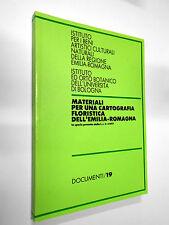 MATERIALI PER UNA CARTOGRAFIA FLORISTICA DELL'EMILIA ROMAGNA IBC 1983