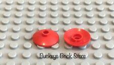 20x LEGO Trans-Neon Green Dish 2 x 2 Inverted Radar Classic Space #4740