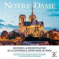Notre-Dame - Les Plus Grands Airs De La Musique Sacrée - Various Artist (NEW CD)