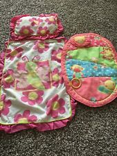 Pretend Play Baby Blanket, Pillow, And Play Mat Baby Alive Play Mat