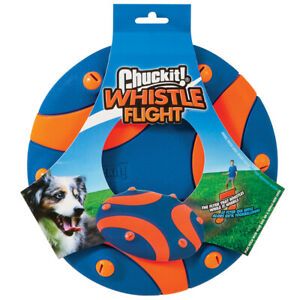 Brand New Chuckit!-Whistle Sound Fetch Flight Dog Flydisc Floats Toy Outdoor