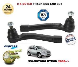 Für Ssangyong Kyron 2.0 Td 2006- > 2x Außen Links & Rechts Spurstangenkopf Satz