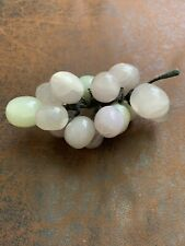 Glass Marble Grapes Decoration Five Inches Green Purple Vintage