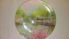 "Royal Doulton Plate,""Garden Of Tranquility"", 1st In Series, 1976"