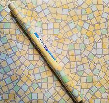 "9ft Mosaic Tiles print contact wall paper Shelf liner peel & stick 9ft x 18"""