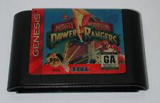 Sega Genesis Tested and Working Cartridge Mighty Morphin Power Rangers