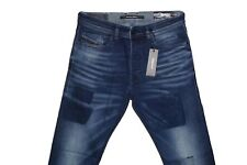 DIESEL TEPPHAR 084BW SLIM CARROT JEANS W33 L32 100% AUTHENTIC