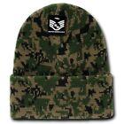 Marpat Military Digital Camo Watch Cap Cuffed Beanie Stocking Cap Free Shipping