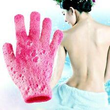 Shower Bath Gloves Exfoliating Spa Massage Skin Care Scrub Body Glove UK SELLER