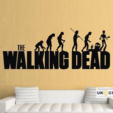 Wall Stickers Walking Zombies Dead Evolution Cool Bedroom Art Decal Vinyl Room