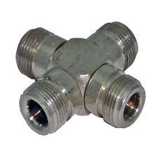 """N"" Type Cross connector (F-F-F-F) ( Cn907 )"