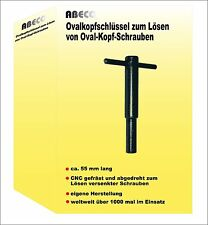 Oval head key Repair Tool for Jura/Krups/AEG