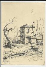 VECCHIA CARTOLINA ARTISTICA DI O. BORSANI 69603