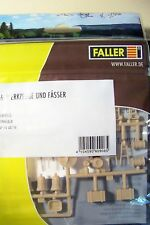 HO scale Faller Tools and Barrels & MORE Model Detail KIT for Warehouse 180906