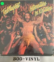 "Ted Nugent ""Intensities In 10 Cities"" Vinyl LP A1-B2 Press Ex Con"