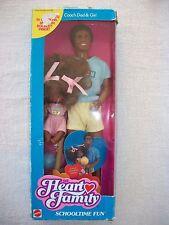 ★ Barbie Famille Doucoeur Papa bébé ★ Heart family Schooltime fun 1988 ★