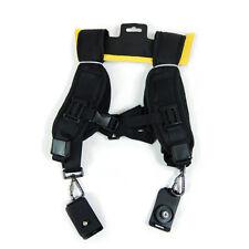 Quick Release Rapid Double Adjustable Shoulder Strap Sling Belt For DSLR Cameras