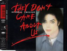 MICHAEL JACKSON : THEY DON'T CARE ABOUT US / 6 TRACK-CD (EPIC EPC 662950 2)
