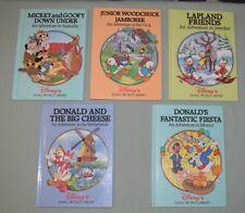 BOOKS HC Disney Small World Library LOT OF 5