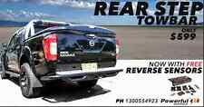 Nissan Navara D40 2005+ RockArmor Rear Step Tow Bar With FREE Reverse Sensor Kit