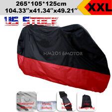 XXL Waterproof Motorcycle Cover For Harley Sportster XL 883 1200 Hugger Custom
