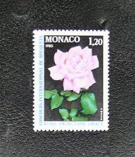 TIMBRES DE MONACO : N° 1200** SANS CHARNIERE - THEME FLEUR LA ROSE - TBE
