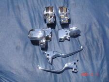 Genuine Harley Chrome Hand Controls Electra Glide Ultra Glide 09-13 Echange ONLY