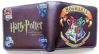 Harry Potter Hogwarts Wallet purse id window 2 slots coin pocket Cartoon