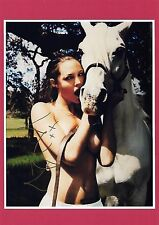 SUPER HOT ANGELINA JOLIE SIGNED AUTOGRAPHED 8x10 PHOTO (MATTED RED) w/COA!!!!!