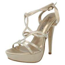 Sandali e scarpe stiletto tacco altissimo (oltre 11 cm) oro per il mare da donna