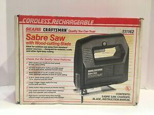 Brand New in Box SEARS CRAFTSMAN Sabre Saw 911162 Original Box
