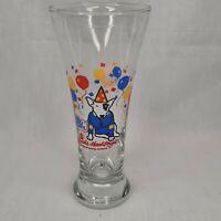 1987 Spuds MacKenzie The Original Party Animal Pilsner Glass Bud Light Beer