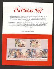 AUSTRALIA-PRESENTACION PACK-CHRISTMAS-1987.