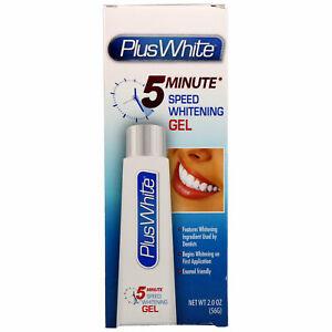 Plus White, 5 Minute Speed Teeth Whitening Gel, 2.0 oz (56 g)