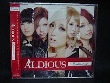 ALDIOUS Radiant A JAPAN CD + DVD Galmet Layla Mari Hamada Show-ya Raglaia Cyntia