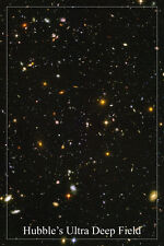 HUBBLE'S ULTRA DEEP FIELD space image poster 24X36 GALAXIES stars SUPERNOVA