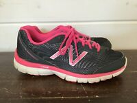 NEW BALANCE 575 Grey Pink White W575LP1 Womens Size 9.5 Running Shoes