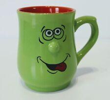 Lime Funny Face Mug