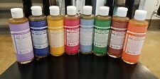 Dr. Bronner's 18-in-1 Pure-Castile Soap, 8 oz. YOU CHOOSE SCENT